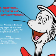 Cat in the Hat with Martin Short not Just for Kids